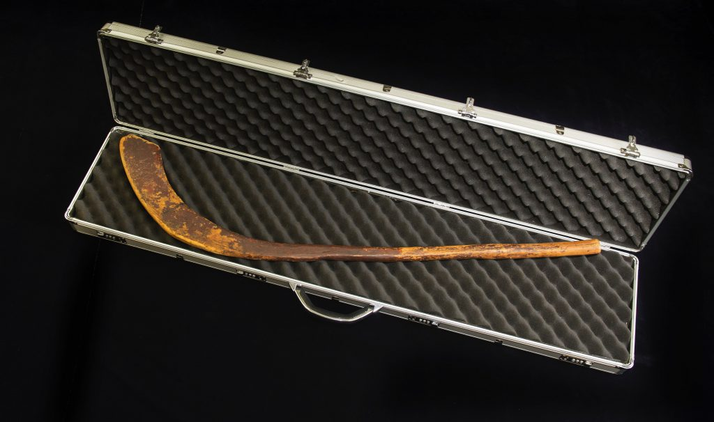Oldest known hockey stick Canada