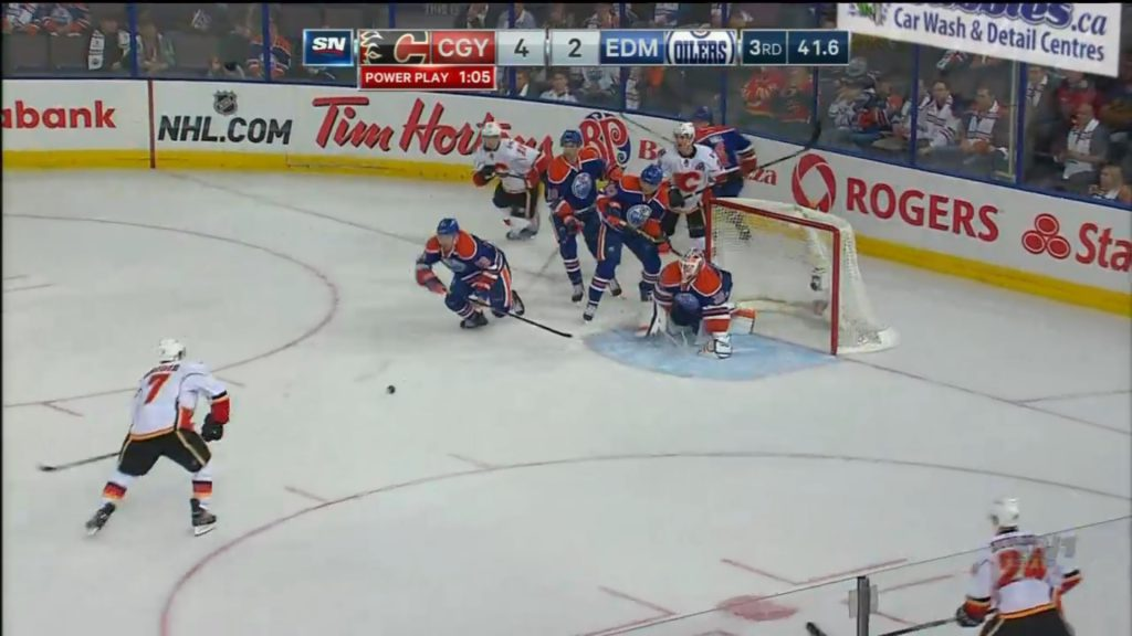 Edmonton Oilers new strategy of goal line defense