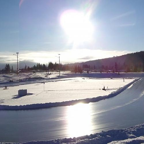 Exhibition Park Outdoor Speed Skating Oval - Rinks