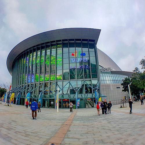 Taipei Arena - Rinks