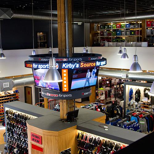 Kirby's Source For Sports - Victoria - Retailers