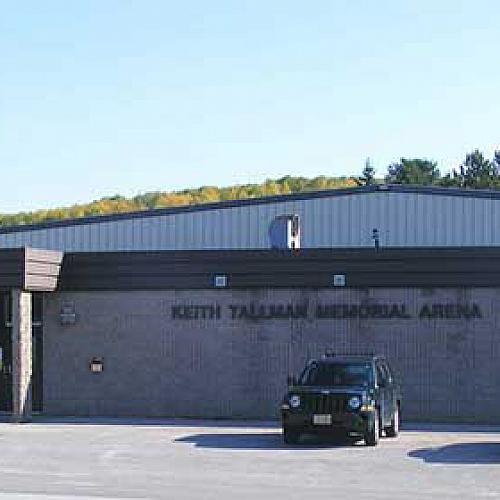 Keith Tallman Memorial Arena - Rinks