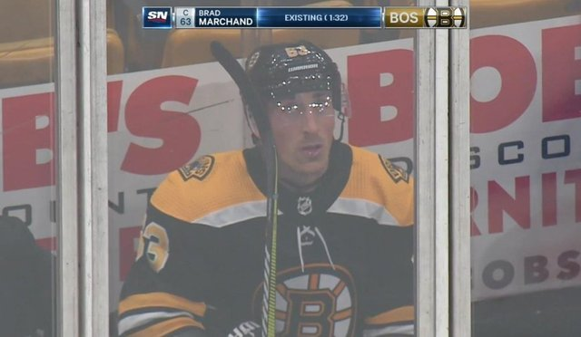Marchand gets 2 minutes for 'existing'