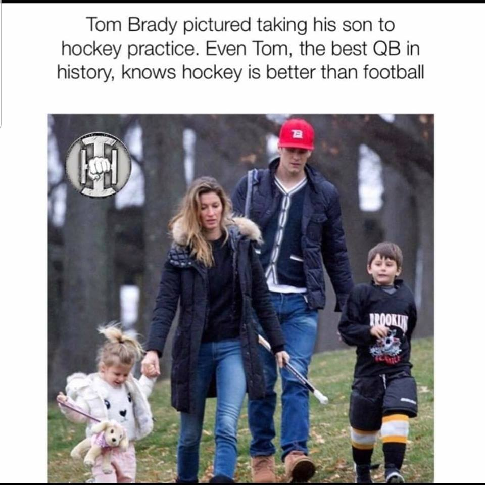 Even Tom Brady knows..