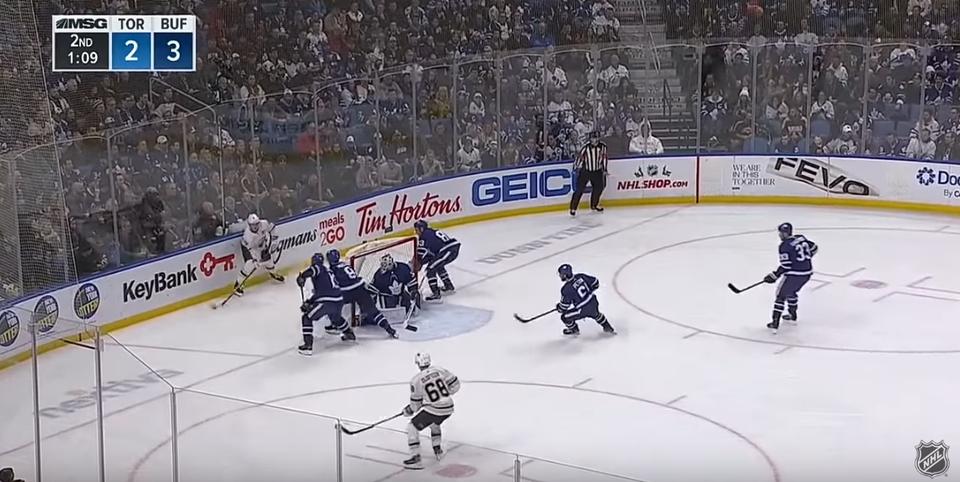 Toronto's new defensive strategy 😉