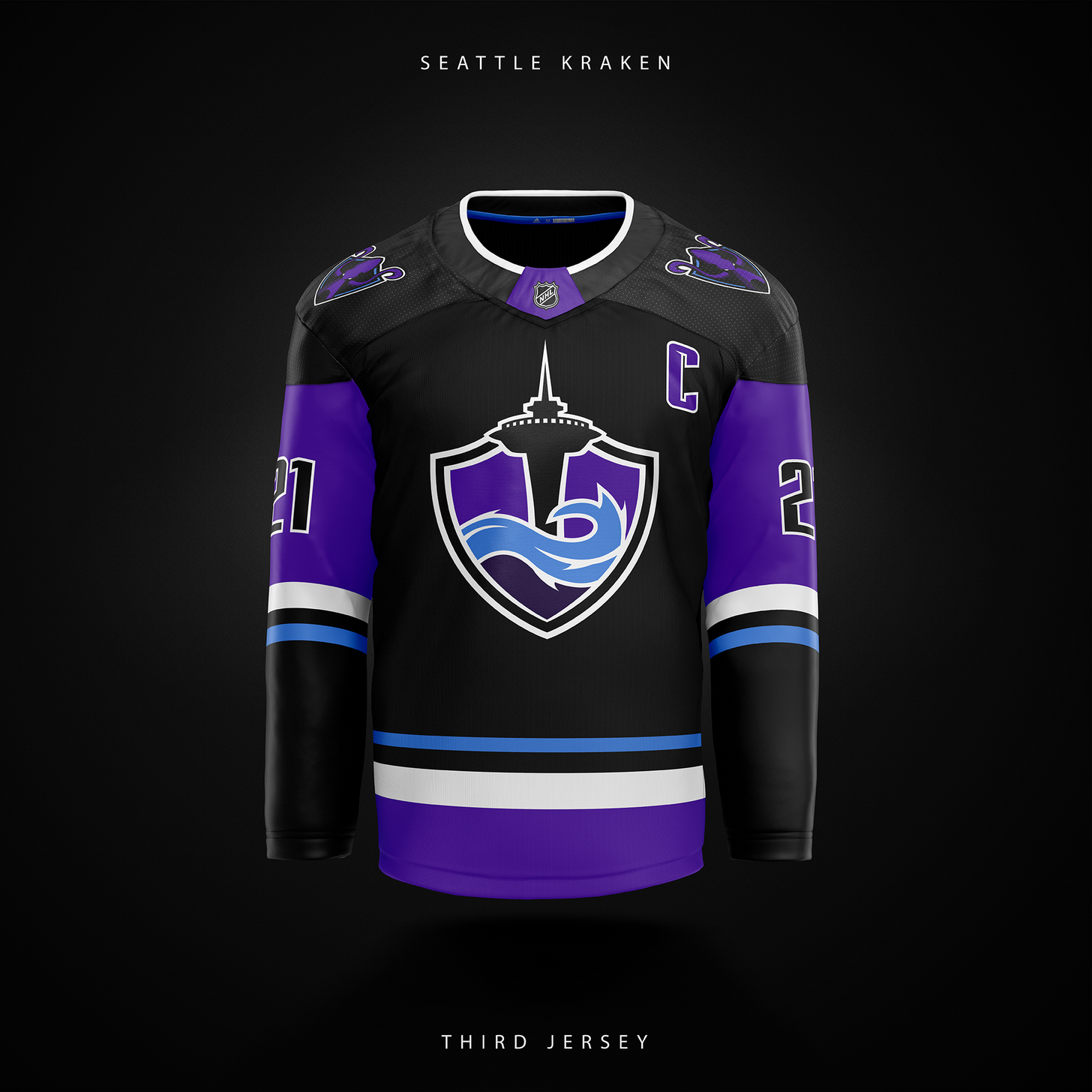 Love this mock-up for the Seattle Krakens!