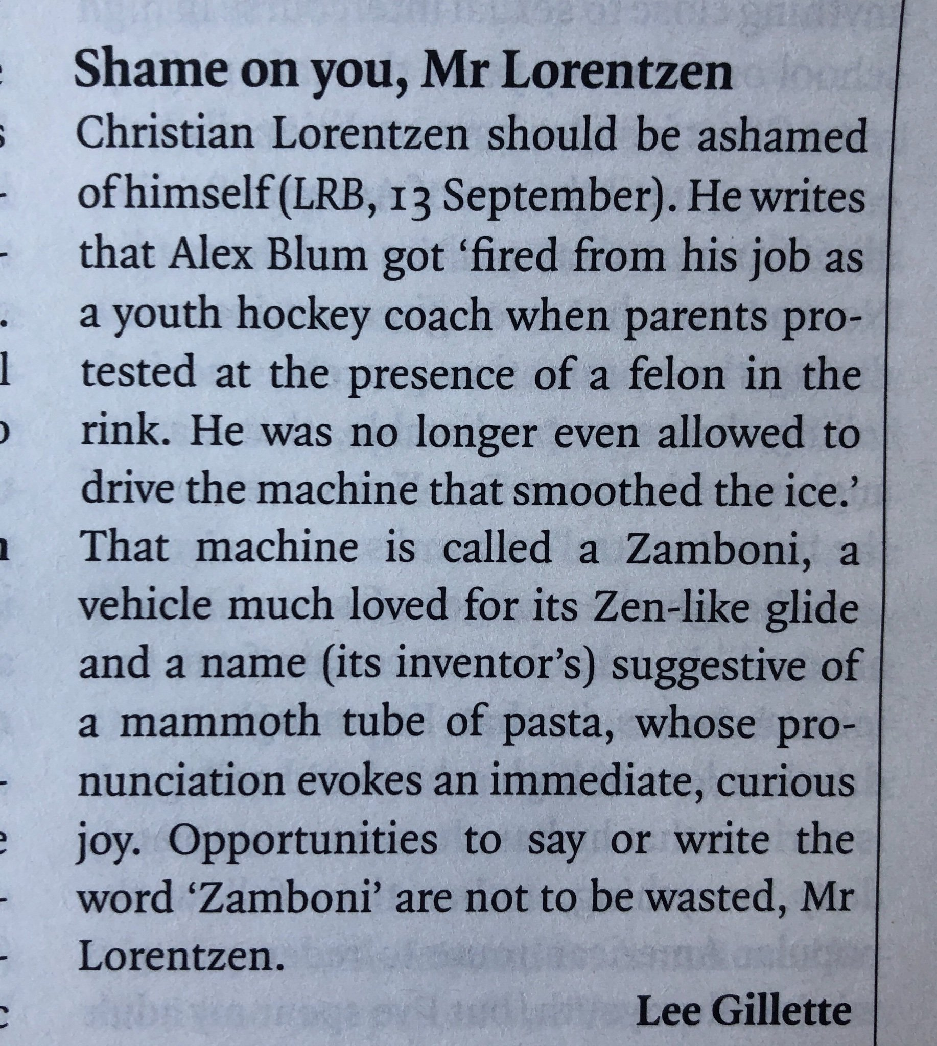 Stirring, righteous anger in this week's LRB paper