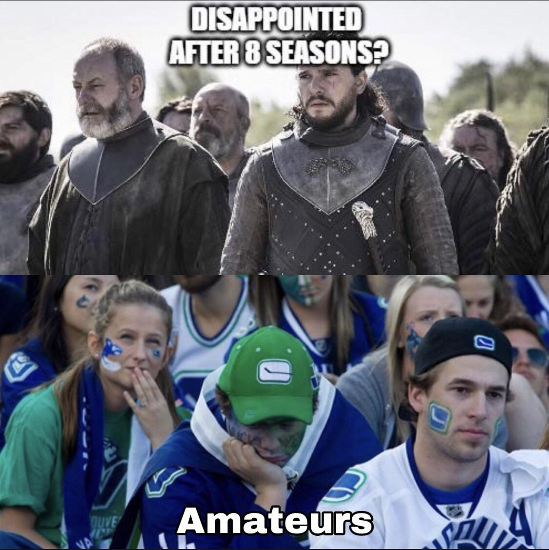 Disappointed?