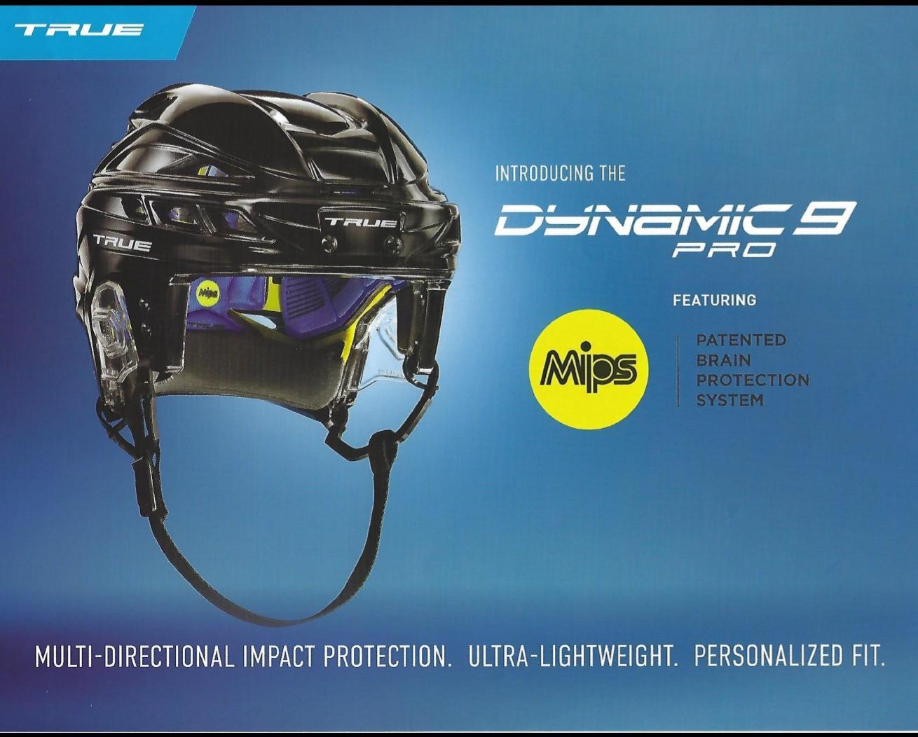 True Hockey's first helmet - Dynamic Pro 9