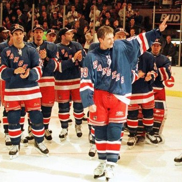 20 years ago today, the Great One, Gretzky, played his last NHL career game