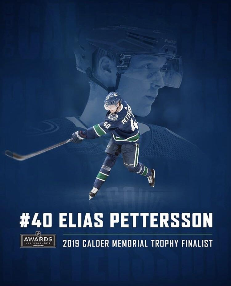 The greatest rookie season in canucks history - Elias Pettersson!