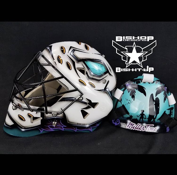 Check out Ryan Millers new mask!