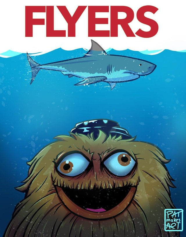 It's game day! It's also the home opener in Philly! Careful Sharks, it looks like you're going to need a bigger boat...
