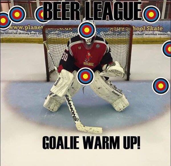 Reality of Beer League Games!