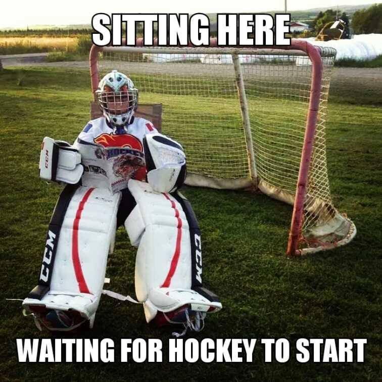 Waiting for Hockey Season to Start..
