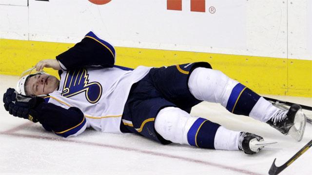 Blues top scorer Tarasenko out at least 10 days